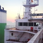 Berge Zugspitze (210,000 dwt) during her sea trial