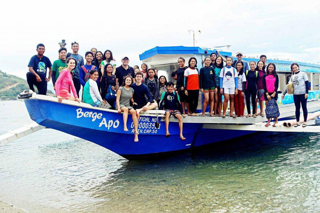 The Berge Apo floating classroom